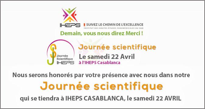 Journée scientifique OUVERTE le 22 Avril 2017